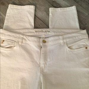 Michael Kors Ivory jeans Size 12